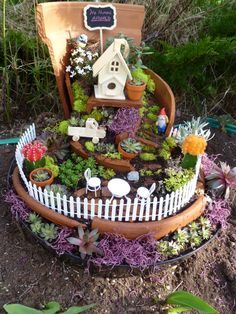 Fairy Garden by Emily, Dusstin and Jessica ❤️