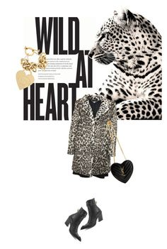 """Wild at Heart"" by sharmarie ❤ liked on Polyvore featuring Paule Ka, STELLA McCARTNEY, John Fluevog, Yves Saint Laurent and Maria Francesca Pepe"