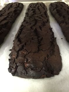 Boss Chocolate biscotti. Soon.