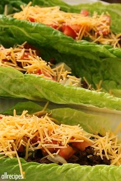 """Lettuce Leaf Tacos 