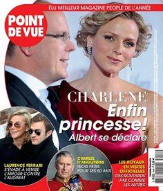 Charlène, enfin princesse ! -  Point de Vue - Numéro 3148