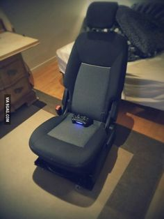 Car-seat gaming chair. best idea ever. & Car Seat Recliner | Recliner Car seats and Reuse islam-shia.org