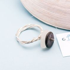 $30.00 Fran Sea Glass Ring