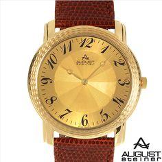 $72.00  AUGUST STEINER Brand New Gentlemens Watch