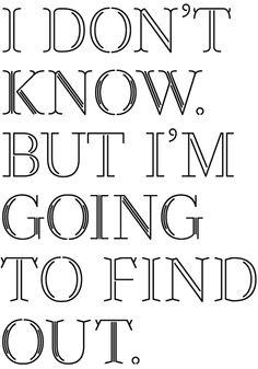 curious.