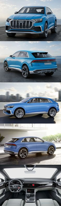 2017 Audi Q8 Concept / Germany / blue