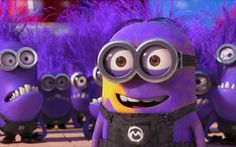 Download wallpapers Evil Minion, funny characters, Despicable Me, Minions