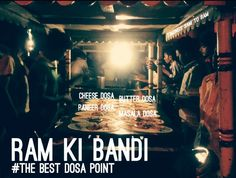 Ram-ki-Bandi : Best Dosa in Hyderabad