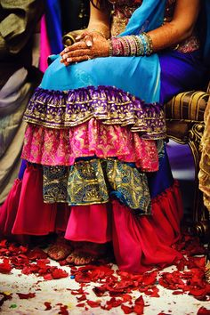 indian wedding --- color!