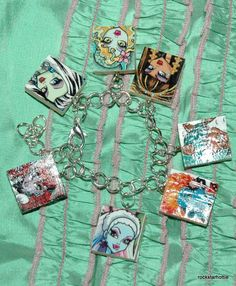 Monster High Bracelet with all the characters.