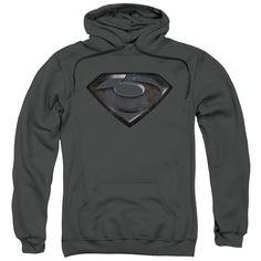 Superman Shield Logo Women/'s Blue Hoodie Sizes XS S M L XL XXL XXXL