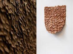 Carved Tapestry design by Linde Freya