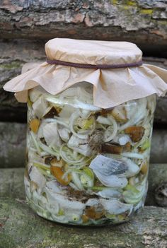 Bon Appétit Małgorzaty, czyli blog kulinarny: przystawki Fish Dishes, Seafood Dishes, Polish Recipes, Bon Appetit, Mason Jars, Food And Drink, Yummy Food, Canning, Blog