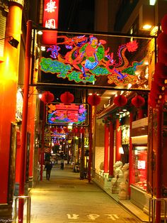 nagasaki-china town japan