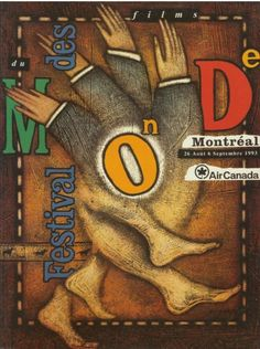 Montreal World Film Festival | 1993 | Poster by Frederic Eibner