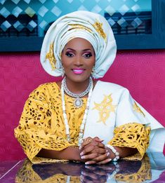 BellaNaija Bride Bunmi's Make Up by Faces of Labisi | Aso-Oke by Bisbod Ventures | Finesse Photography & SC George