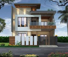 Modern Small House Design, Modern Exterior House Designs, Modern House Facades, Modern Bungalow House, Modern Bungalow Exterior, 3 Storey House Design, Bungalow House Design, House Outside Design, House Front Design