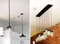 Lighting- Lowes Pic on right- good mix of rustic and modern