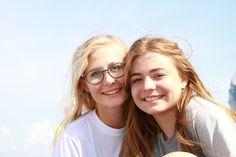 Amanda og Matilde.