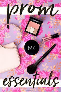 A sweet and pink makeup look perfect for prom! Click for more purse-perfect products. | Mary Kay