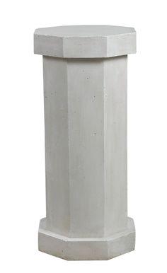 Kenroy Facet Pedestal Garden Statue