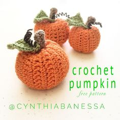 I think this is the cutest crochet pumpkin pattern! Get your hook and yarn out and let's hook up these adorable pumpkins! Autumn is my favorite time of the year.Every Autumn I like to decora…