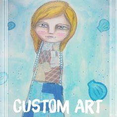 Another #custom #art piece  #love working on these  #acatlikecuriosity #happy #life #artist #artwork #artstagram #artofinstagram #artistsofinstagram #artoftheday #mixedmedia