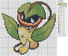 Birdie Stitching Pokemon Pattern - 71 Victreebel