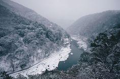 Mountain river in Japan [1920 x 1080]