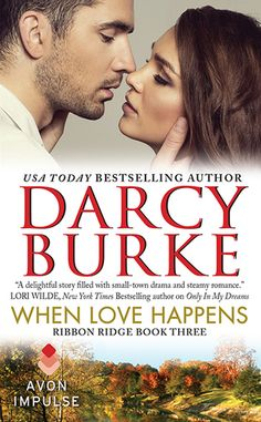 When Love happens (Ribbon Ridge 3) by Darcy Burke: http://www.thereadingcafe.com/when-love-happens-ribbon-ridge-3-by-darcy-burke-a-review/