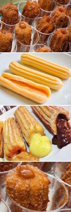 Después de aprender a hacer estes Churros caseros con solo 2 ingredientes y en 5 minutos! Es Como si te pusieran churros en la cara. #losmejores #dulces #churros #pan #panfrances #pantone #panes #pantone #pan #receta #recipe #casero #torta #tartas #pastel #nestlecocina #bizcocho #bizcochuelo #tasty #cocina #chocolate Mezclar bien la Harina y la Sal. Luego agregarle el agua caliente y mezclar bien quede Luego mezclar con la...