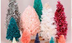 Fluffy Christmas trees