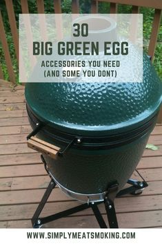 Think you have all the accessories you could ever want for your Big Green Egg? I have good news for you!     | Big Green Egg Eggeseeories | Big Green Egg | BBQ Accessories | Barbecue Accessories | Barbeque Accessories | #BBQ #Barbecue #Barbeque