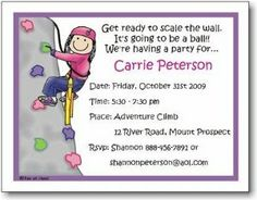 Pen At Hand Stick Figures - Invitations - Rock Climbing - Girl (Inv 1066 G) by Pen At Hand. $36.90. Product DescriptionWhite flat stick figure invitation that is perfect for your child's next party!