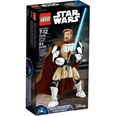 Lego Star Wars Obi-Wan Kenobi Buildable Figure 83 pcs 10 inches NIB Ages 7-12 SW
