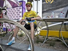 Chris Froome looked cool but admitted to nerves before such a key stage