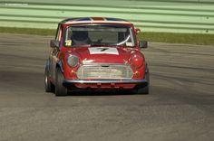 1968 Austin Mini Cooper MKII at the Kohler International Challenge