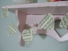 Vintage Sheet Music Bunting - The Supermums Craft Fair