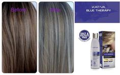 Kativa Blue Therapy Silver Shampoo.Η εξέλιξη στα κομμωτήρια,Το καλύτερο της αγοράς! To Kativa Blue Therapy Silver Shampoo είναι ένα σαμπουάν που χρησιμοποιεί μια φόρμουλα από μπλε και μωβ διορθωτικές χρωστικές της επόμενης γενιάς . Χρησιμοποιεί μικροσωματίδια που διεισδύουν στην ίνα της τρίχας ,εξουδετερώνοντας τις ανεπιθύμητες αποχρώσεις του κίτρινου και πορτοκαλί ενώ ταυτόχρονα παρέχουν ενυδάτωση και λαμπερά και υγιή μαλλιά! Ο τύπος του βασίζεται στη συμπληρωματικότητα του χρωμίου.