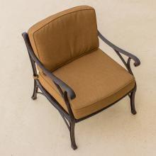 Heritage Cast Aluminum Patio Club Chair