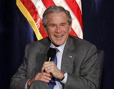 Bush's Swiss visit o