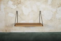 Shelf | Oak / Black | Design by Frama | Photographed by Michael Falgren