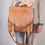 Frankie Fierce Bag | Camel