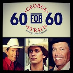 """""""Give It All We Got Tonight"""" BECOMES 60th #1 Single for The King of Country - George Strait!!!"""