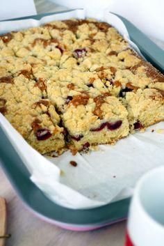 Schnelle Kuchen-Rezepte: Kirsch-Streusel