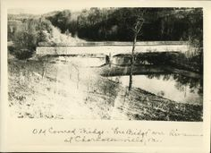 Free Bridge, Charlottesville, Virginia  from University of Virginia Visual History Collection; Albert and Shirley Small Special Collections Library, University of Virginia.