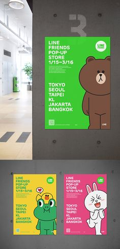LINE FRIENDS POPUP STORE on Behance