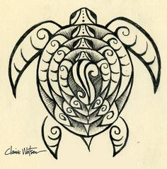 Turtles are a prevalent part of Ecuadorian and Filipino geography. I hope to combine my love for turtles in a family tattoo like this. I think I'd add a bit of Incan art to make it my own.