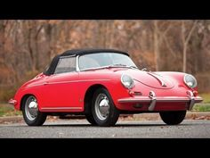 1960 Porsche 356B Roadster by Drauz Karosserie