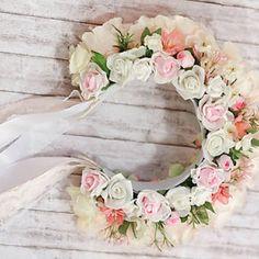 svadobna_parta_sweet_lady_lollipop__ Sweet Lady, Floral Wreath, Wreaths, Wedding, Decor, Valentines Day Weddings, Floral Crown, Decoration, Door Wreaths